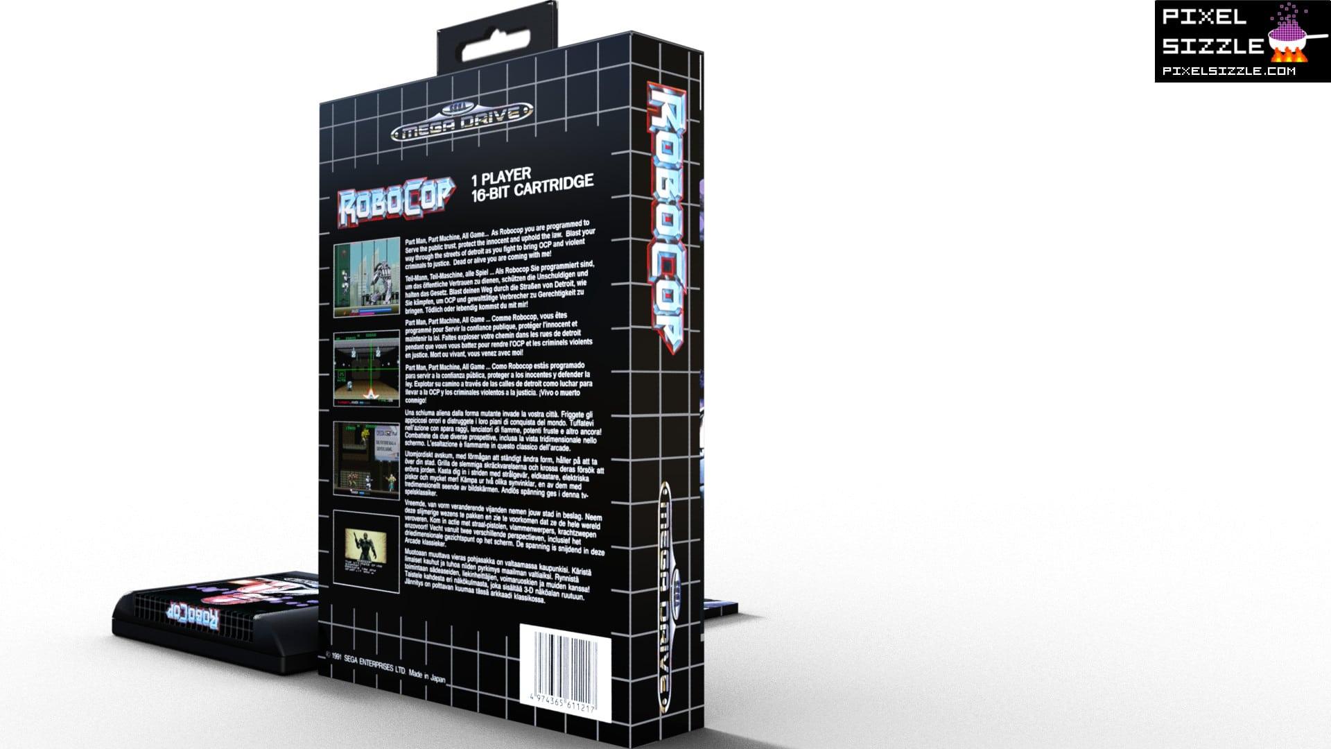Retro Game Reviews. Robocop. Sega Genesis. Sega Megadrive
