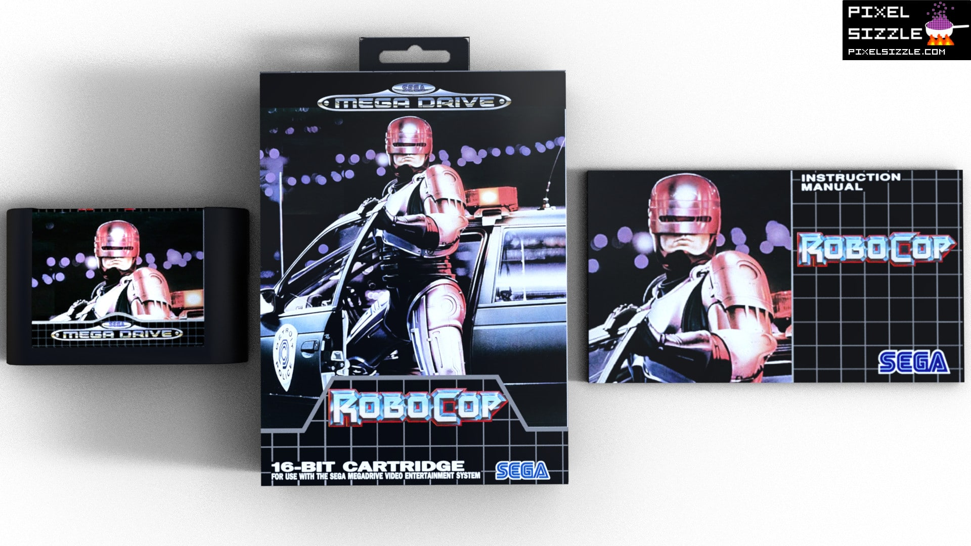 Retro Game Reviews. Robocop. Sega Genesis. Sega Megadrive