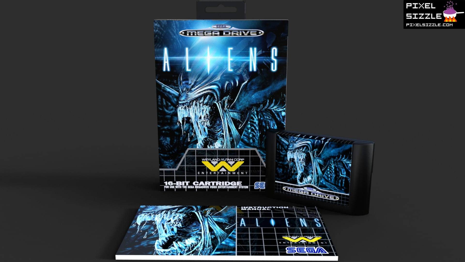 Retro Game Reviews. Aliens. Sega Genesis. Sega Megadrive