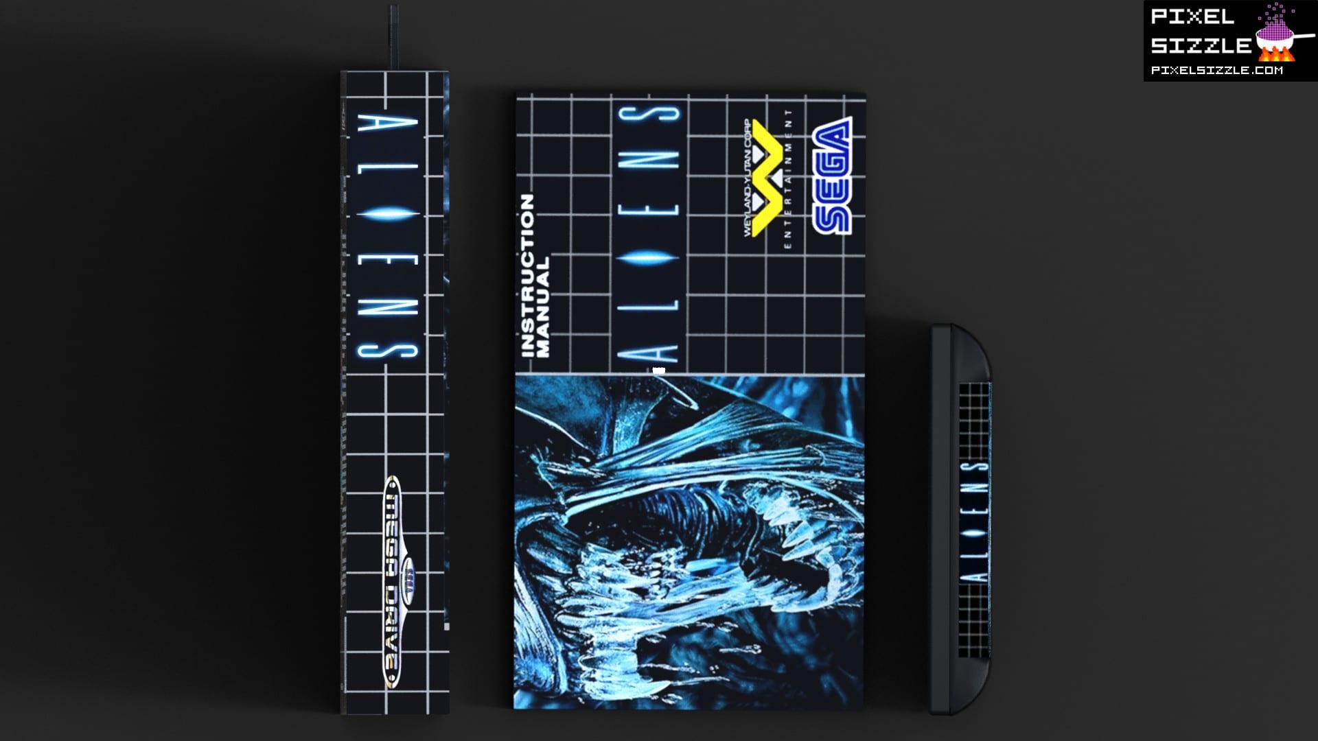 Aliens Daz Studio Art
