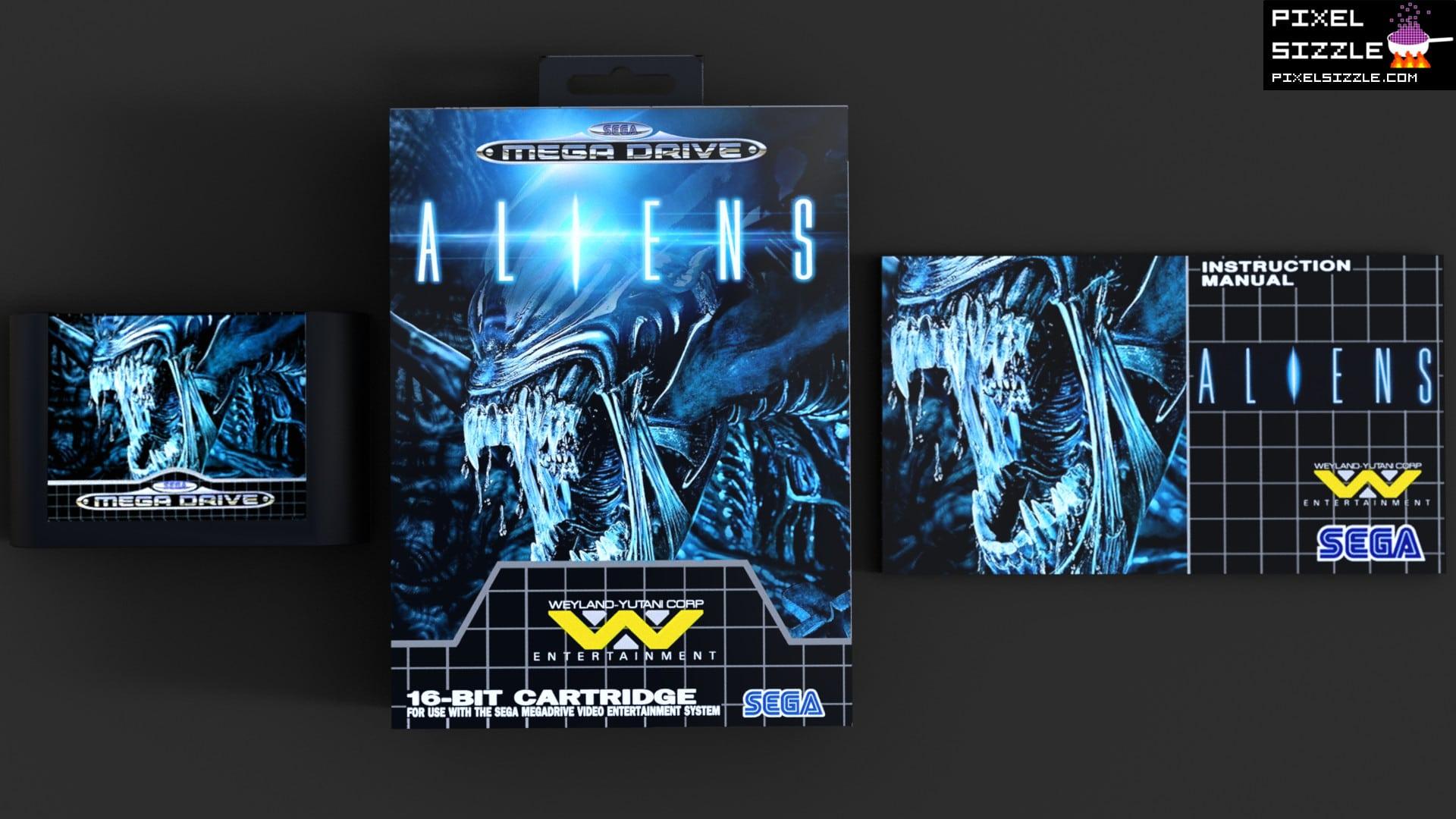 Retro Game Reviews. Aliens. Sega Genesis. Sega Megadrive
