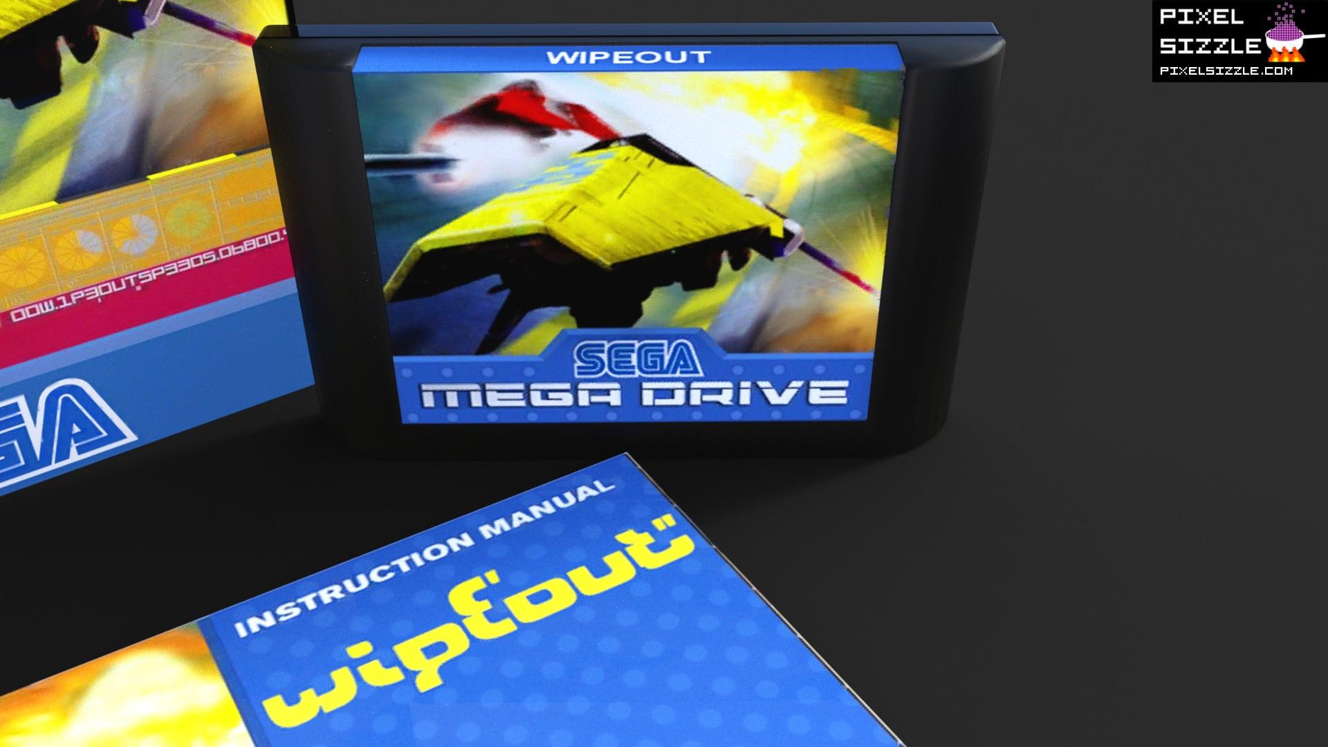 Retro Games. Wipeout. Sega Genesis