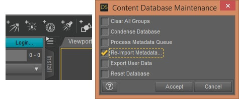 If you cant find new content, look for this icon and select 'Content Database Maintenance'.  Tick the Re-Import Metadata box and click Accept