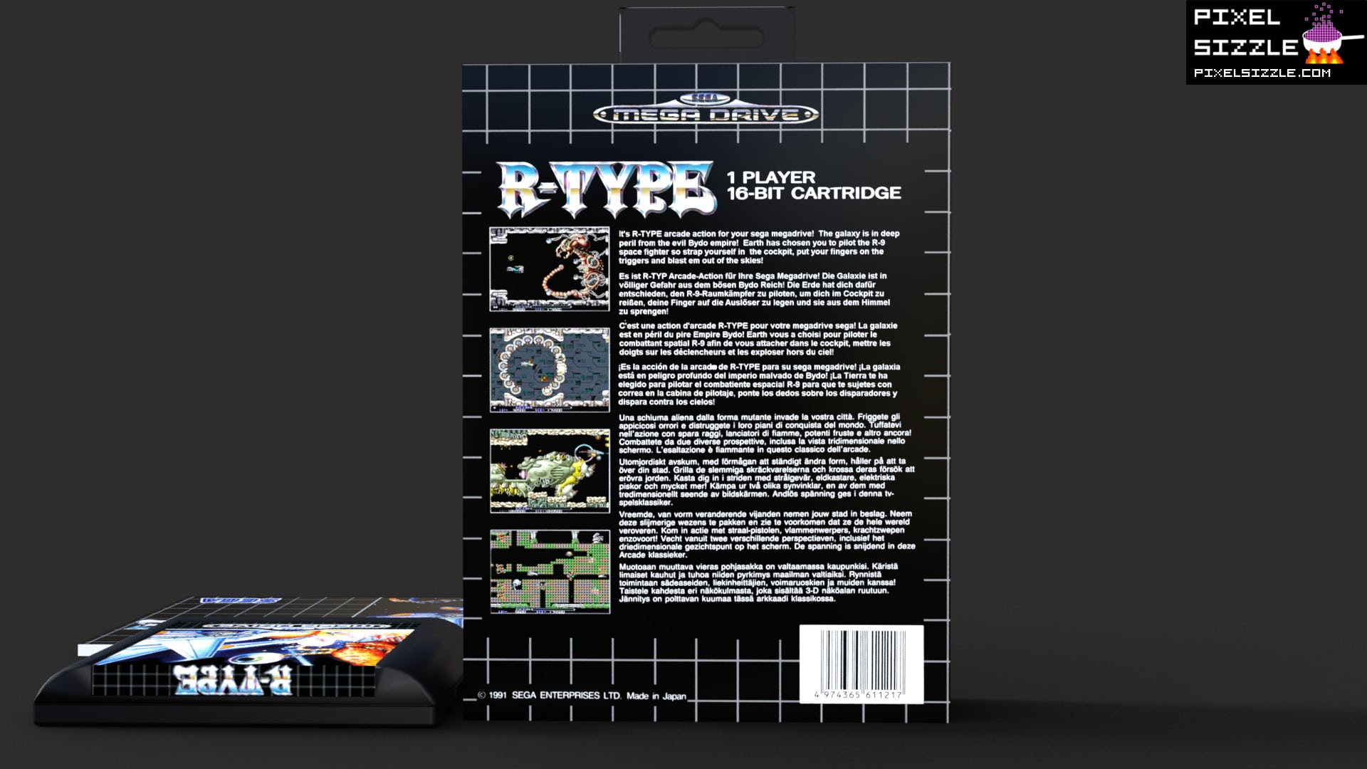 Retro Game Reviews. R-Type. Sega Megadrive
