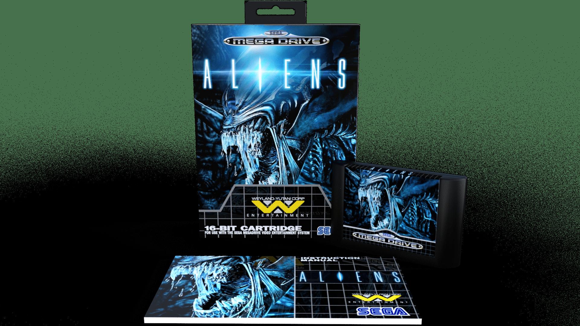 Aliens sega genesis sega megadrive