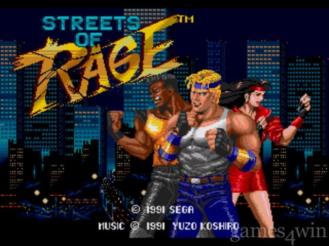 Sega Genesis Streets_of_Rage_title