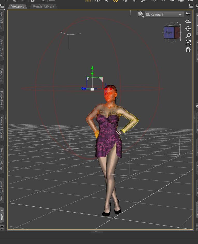 Daz Studio 3D model