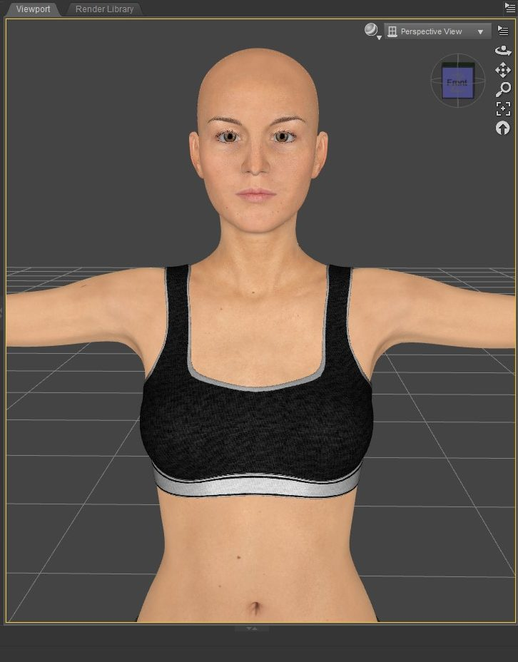 Default Texture. Daz Studio 3D model