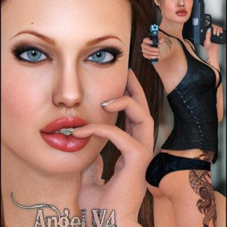 Angelina Jolie - Angel for V4