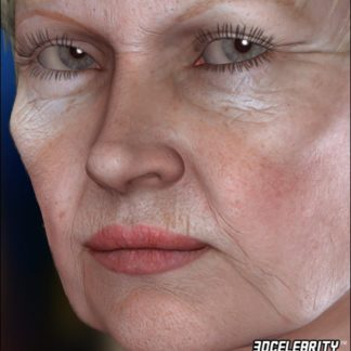 Dame Judi Dench - 3D Celebrity Lola