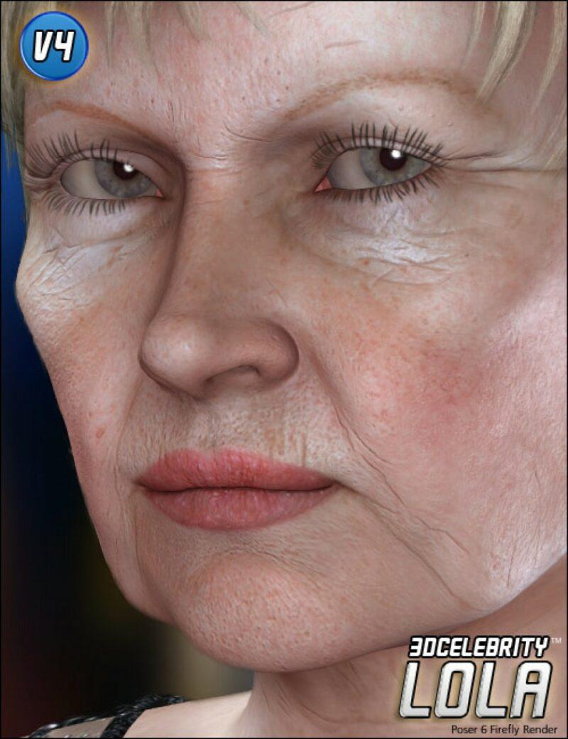Dame Judi Dench - 3D Celebrity Lola