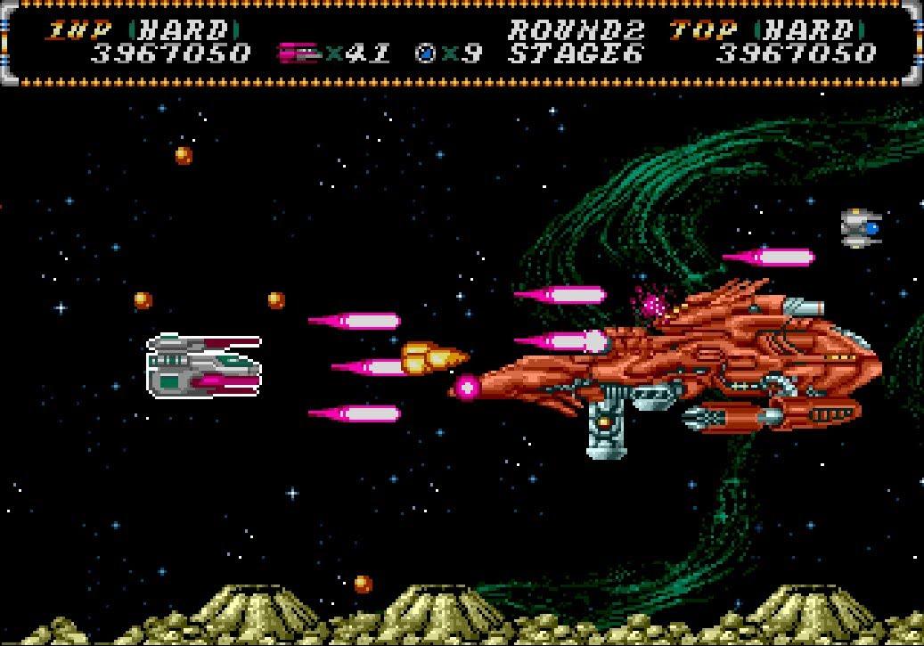 Hellfire Sega Genesis