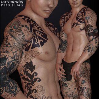 Jet Li - Jinn for V4 Male & Vittorio