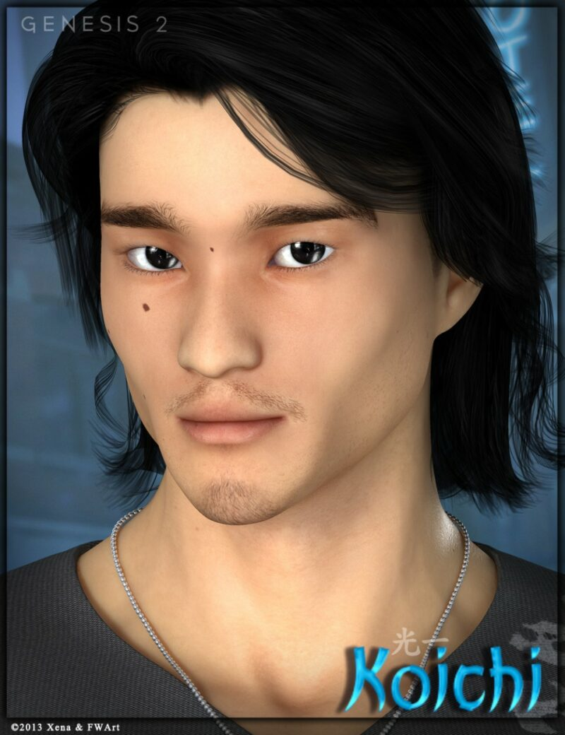 Karl Yune - FWX Koichi - Character and Accessories