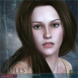 Kristen Stewart - MRL Jules Celebrity 3D Model Lookalike