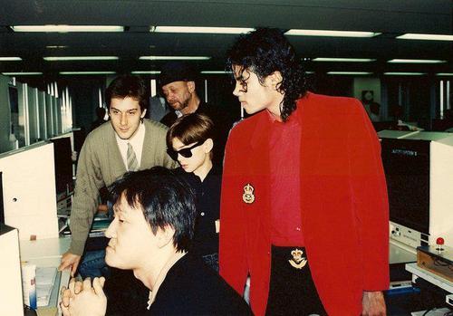 MJ at Sega