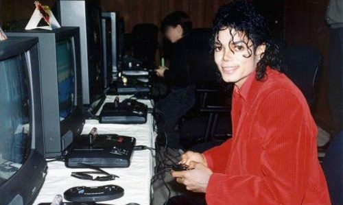 Michael Jackson at Sega