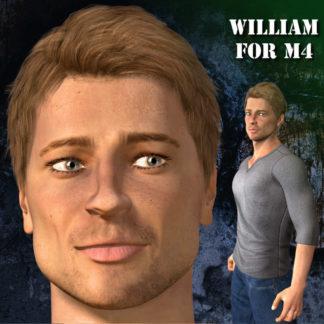 William for M4 - Brad Pit
