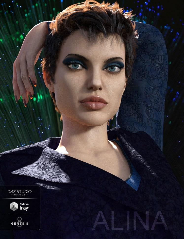 Angelina Jolie -Alina for Genesis 8 Female - Celebrity 3D