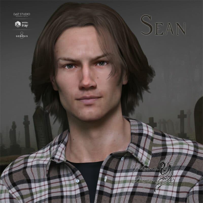 Jared Padalecki 3d