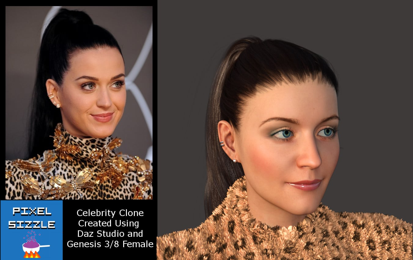 Create Celebrity Clones with Genesis 3 and 8 -Poppy Starr