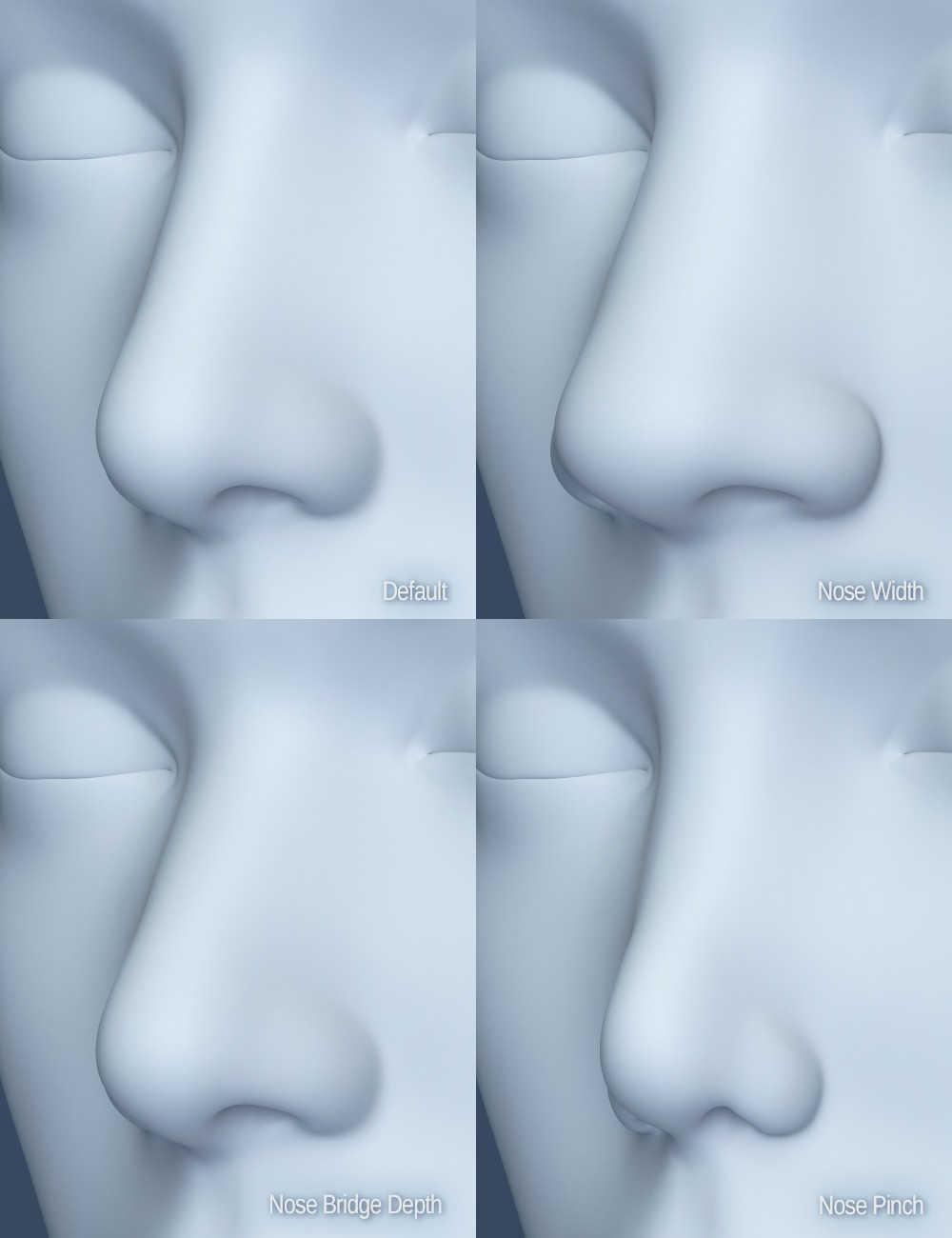 Genesis 8 Female Head Morphs -Daz Studio - Pixel Sizzle