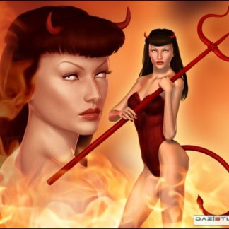 Bettie Page - Sin - Character and Outfit for V4