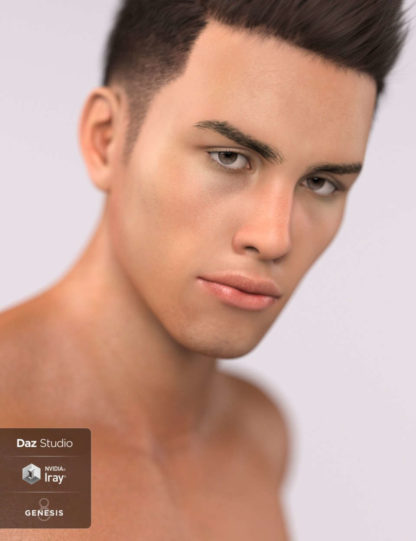 "Chukuma ""Chuku"" Modu - Vini for Genesis 8 Male"