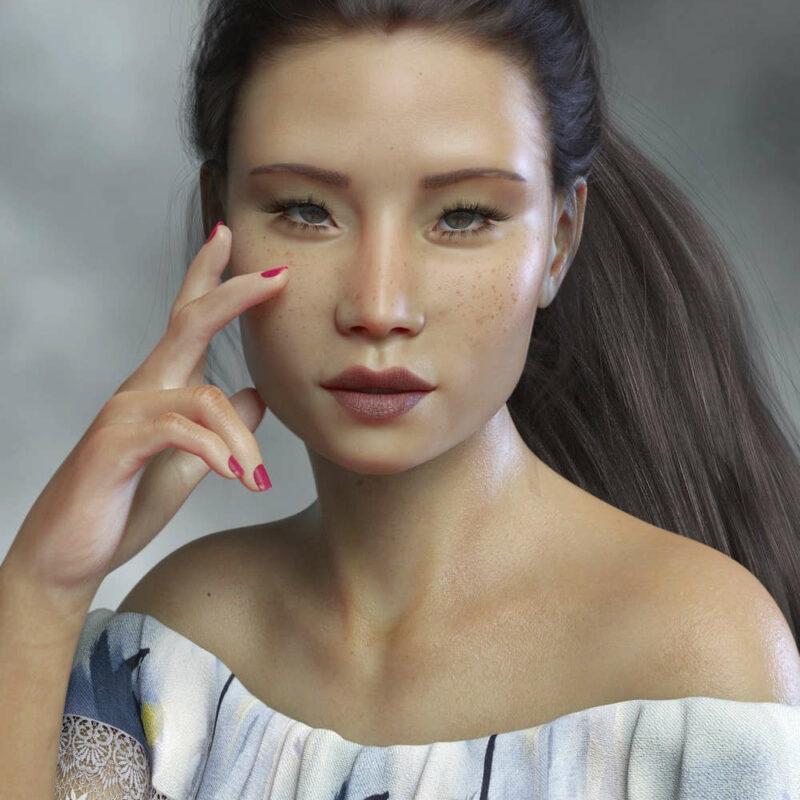 Lucy Liu - PS Onishi for Genesis 8 Female & Victoria 8