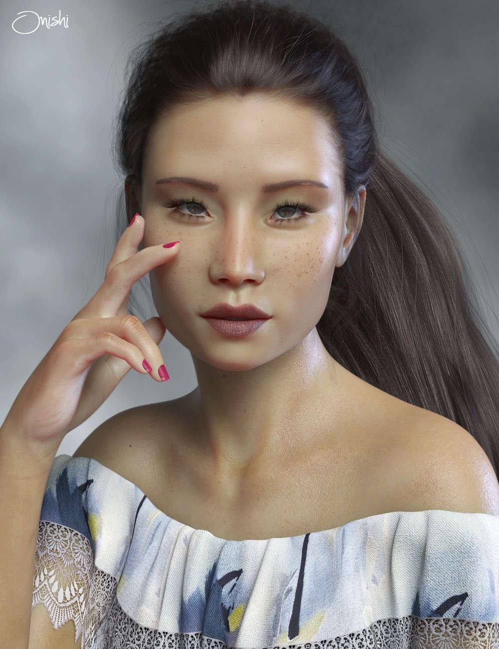 Lucy Liu - PS Onishi Genesis 8 & Victoria 8  Celebrity 3D