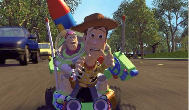 Toy Story by PIXAR - 1995
