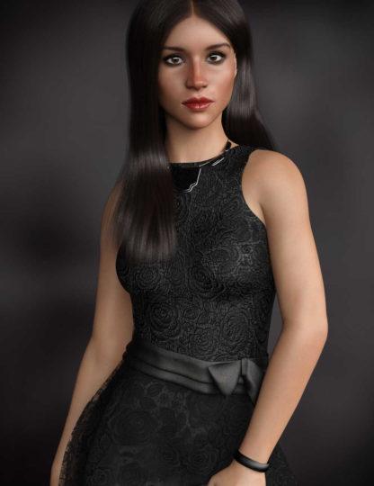Meghan Markle - P3D Melanie HD for Genesis 8 Female