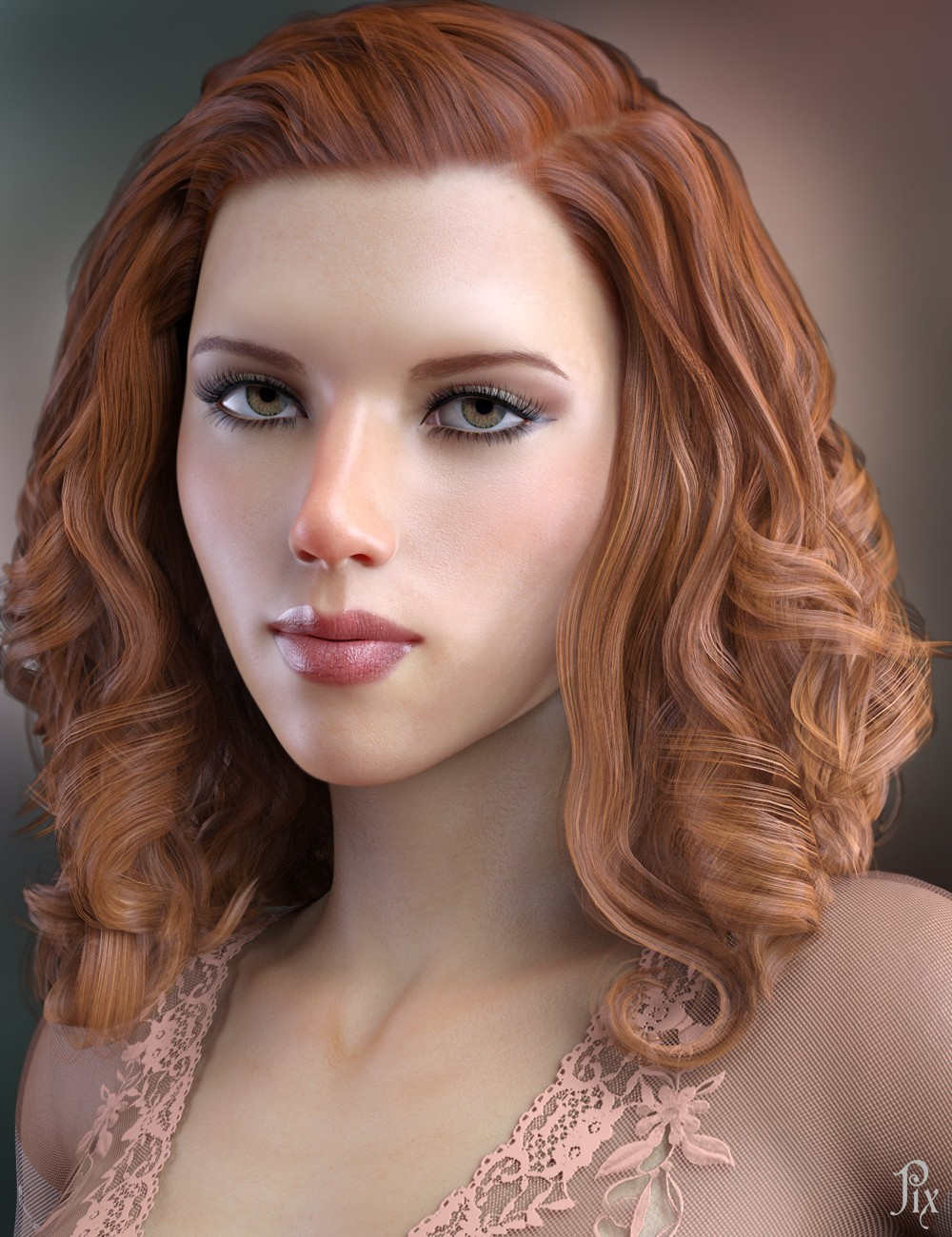 Scarlett Johansson for Genesis 8 Female - Celebrity 3D Model