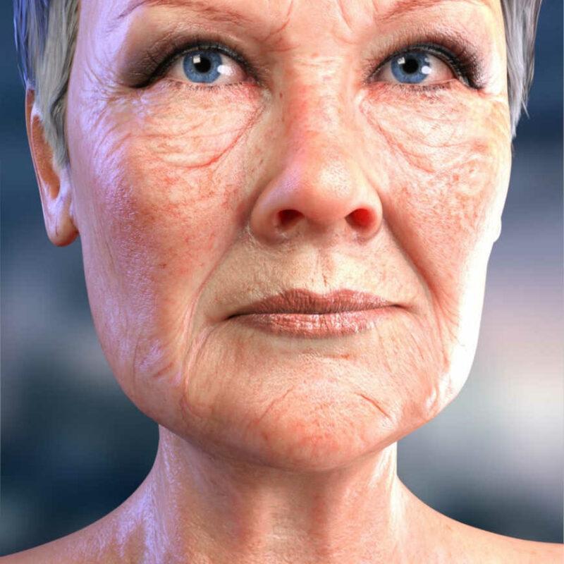 Dame Judi Dench – Various Faces for Mabel 8