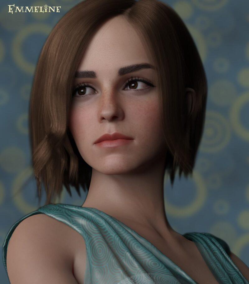 Emma Watson - Emmeline Young for Genesis 8 Female