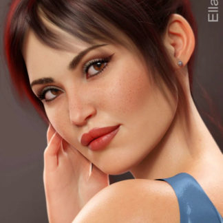Ella HD for Genesis 8 Female