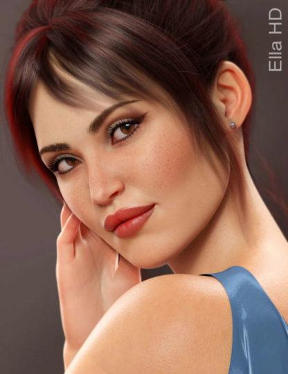 Ella HD for Genesis 8 Female