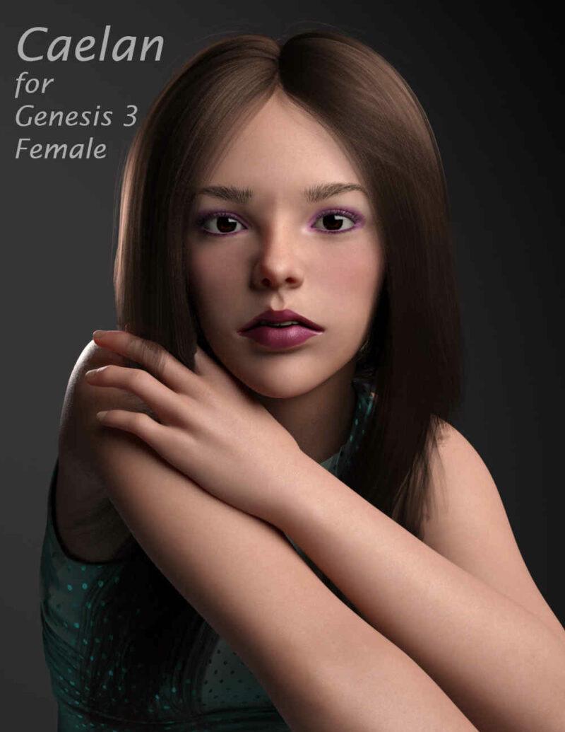 Caelan For Genesis 3 Female - Daz Celebrity