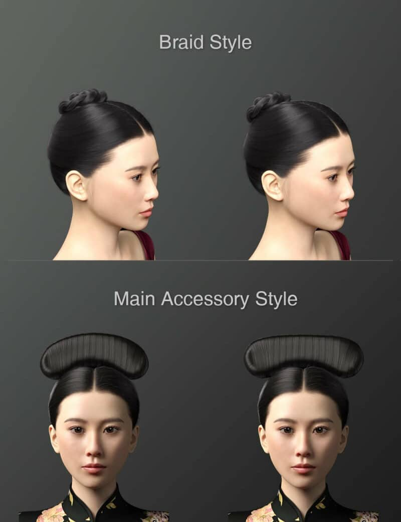 Cecilia Lau Character and Hair For Genesis 8 Female - Daz Celebrity 4