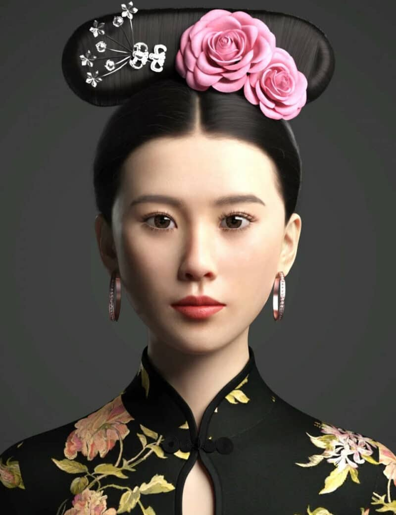Cecilia Lau Character and Hair For Genesis 8 Female - Daz Celebrity