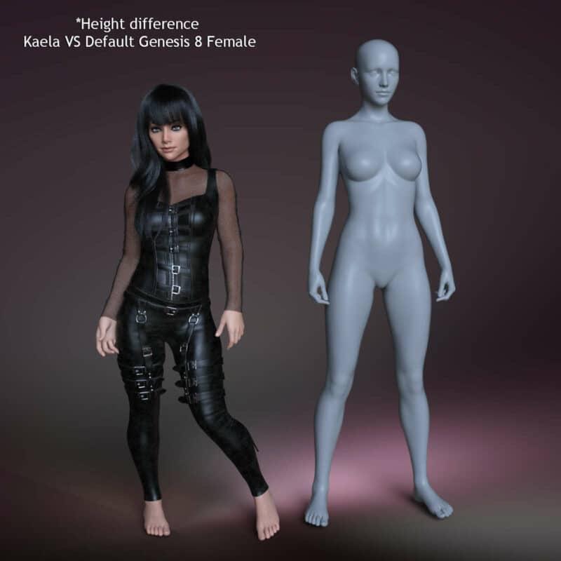 Kaela for Genesis 8 Female 3