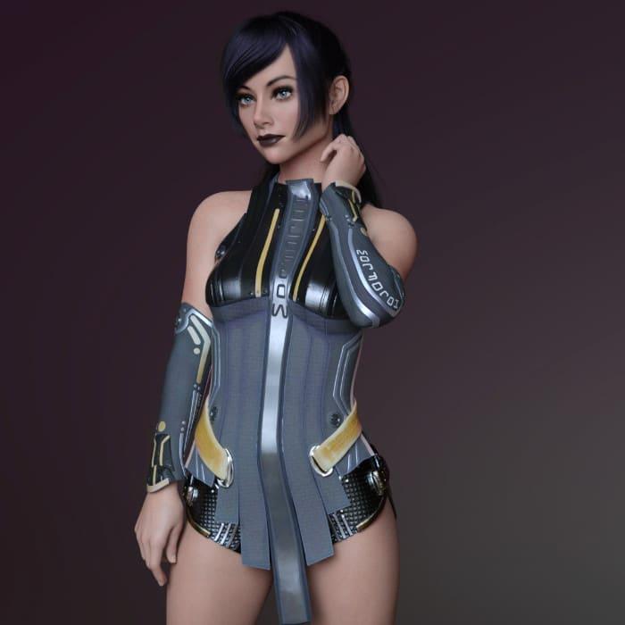 Kaela for Genesis 8 Female 5
