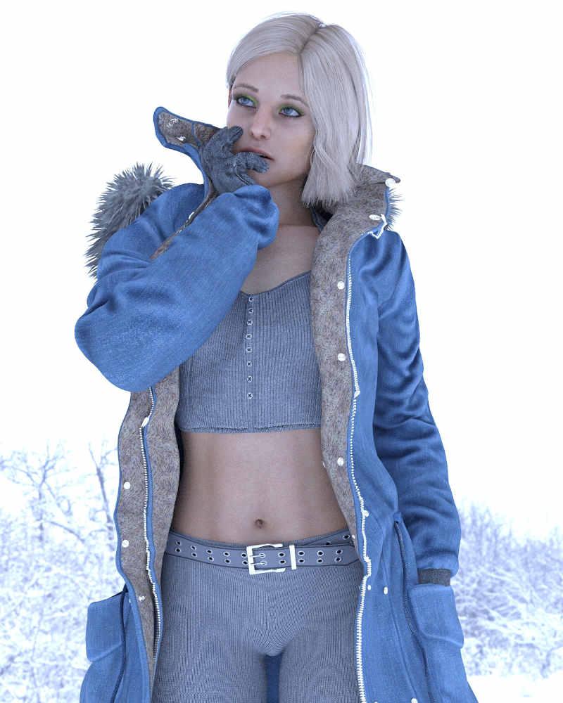 KrashWerks ELSIE for Genesis 8 Female - Daz Celebrity 5