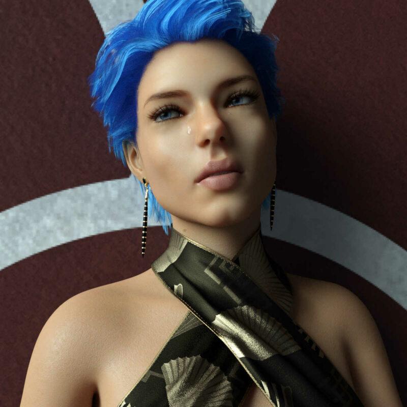 Sabine for Genesis 8 Female - Daz Celebrity 3