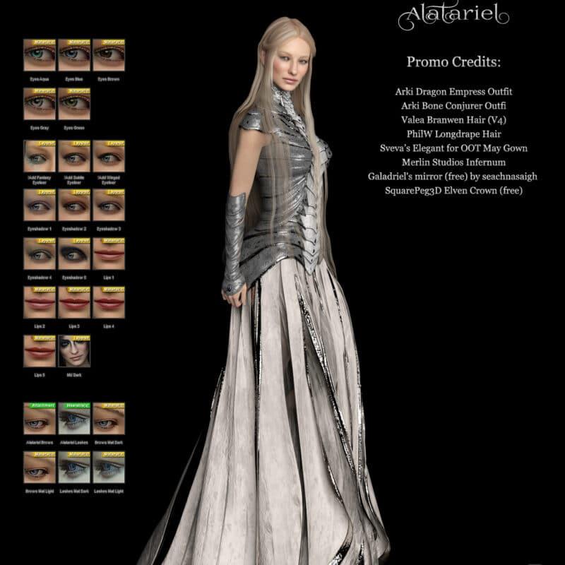 Alatariel for Genesis 8 Female Daz Celebrity 2