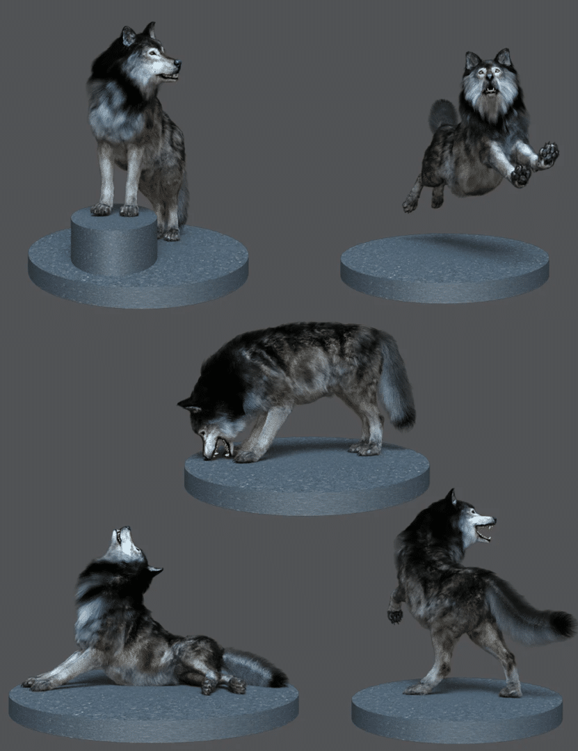 Alpha-Poses-for-Dire-Wolf-Daz3d-Wolf