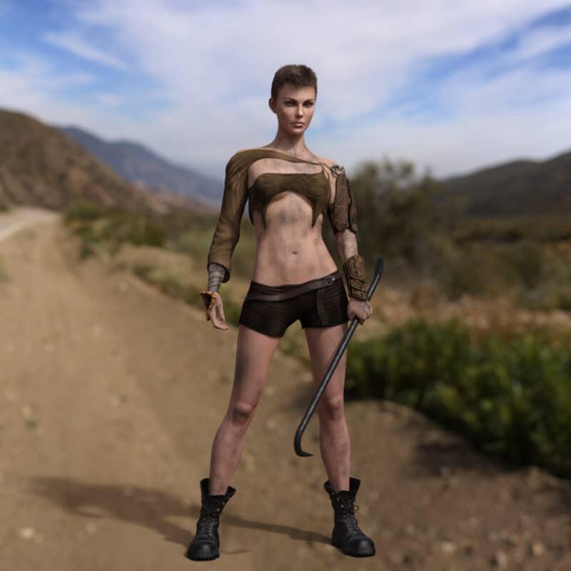 Furia for Genesis 8 Female - Daz Celebrity 3