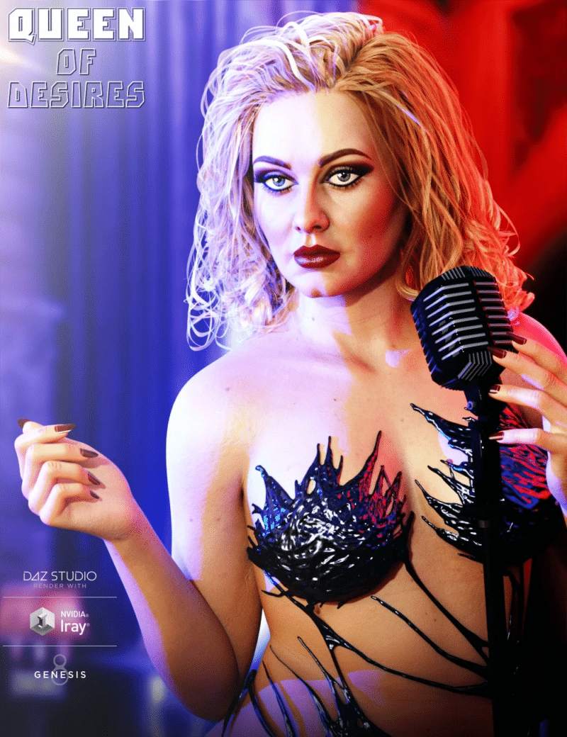 Queen of Desires HD for Genesis 8 Female Daz Celebrity 3