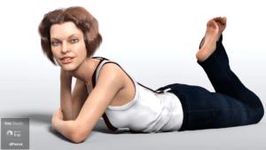 dForce Vintage Bob for Janna Original Figure and Genesis 8 Female
