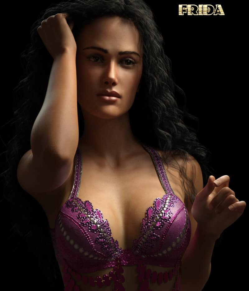 Frida for Genesis 8 Female - Daz Celebrity